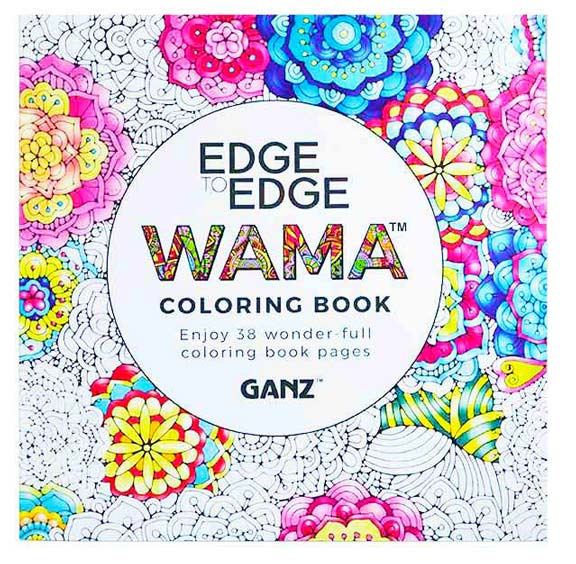 ganz usa llc wamaacirc132cent adult coloring book edge to edge