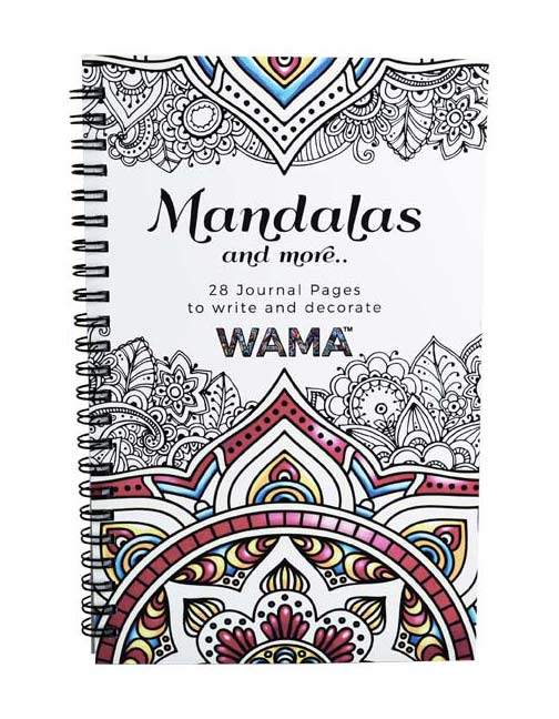 WAMATM Adult Coloring Journal