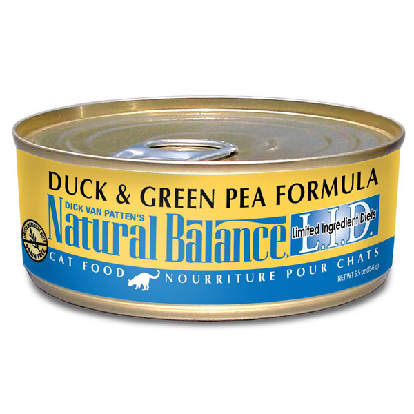 Duck And Pea Canned Cat Food