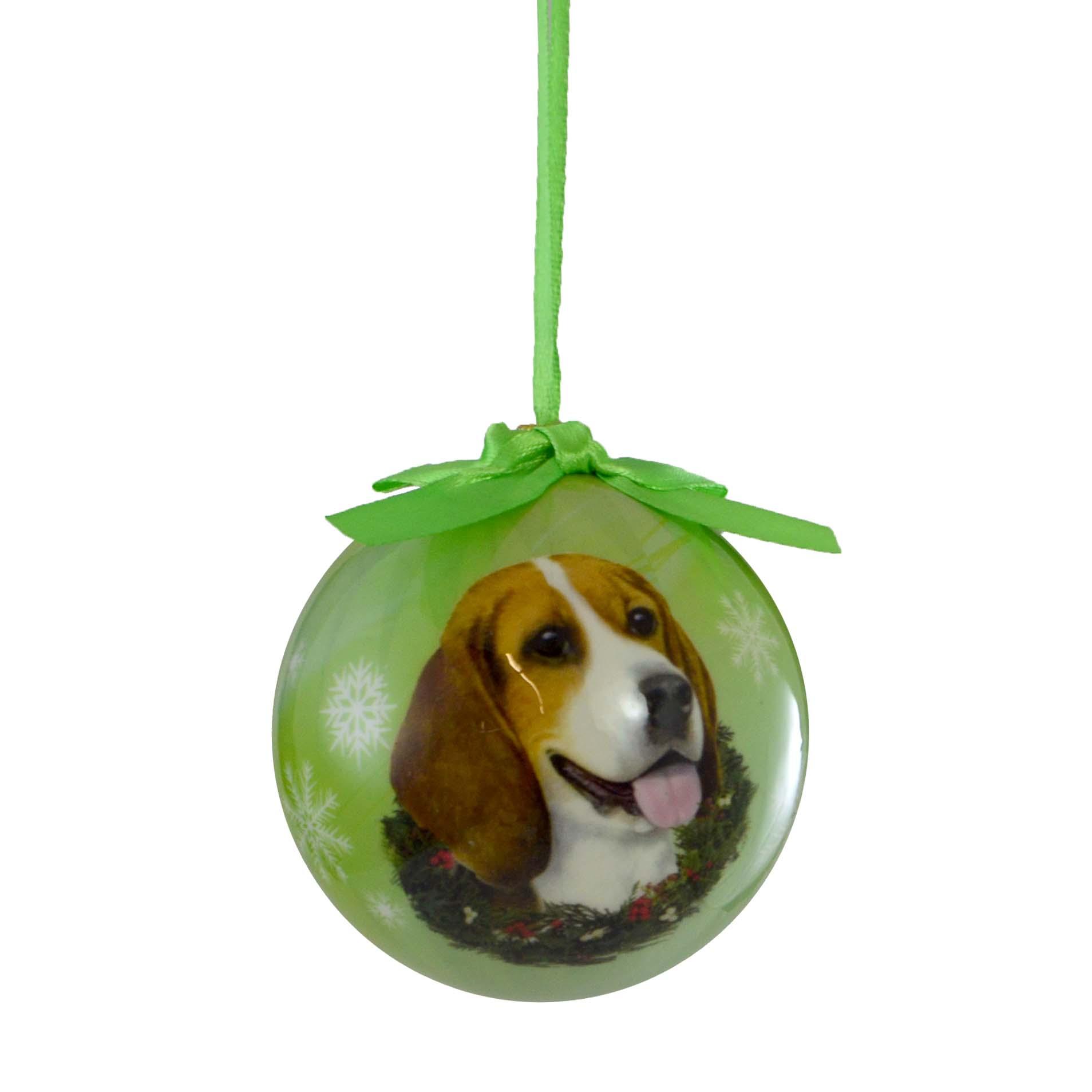 Novelty ornaments - Beagle Ball Ornament