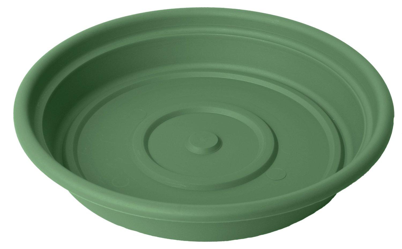 Bloem Dura Cotta Plant Saucer, 16 in., Living Green - Ceramic Saucers Alsip Home & Nursery Northwest Indiana