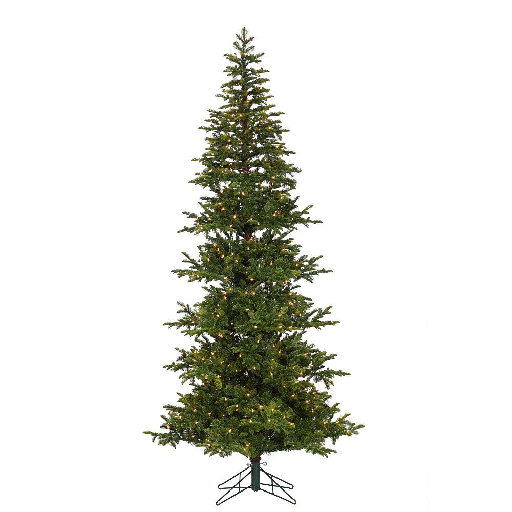 7.5' Hillsdale Noble Mini Christmas Tree, Pre-Lit Clear Lights